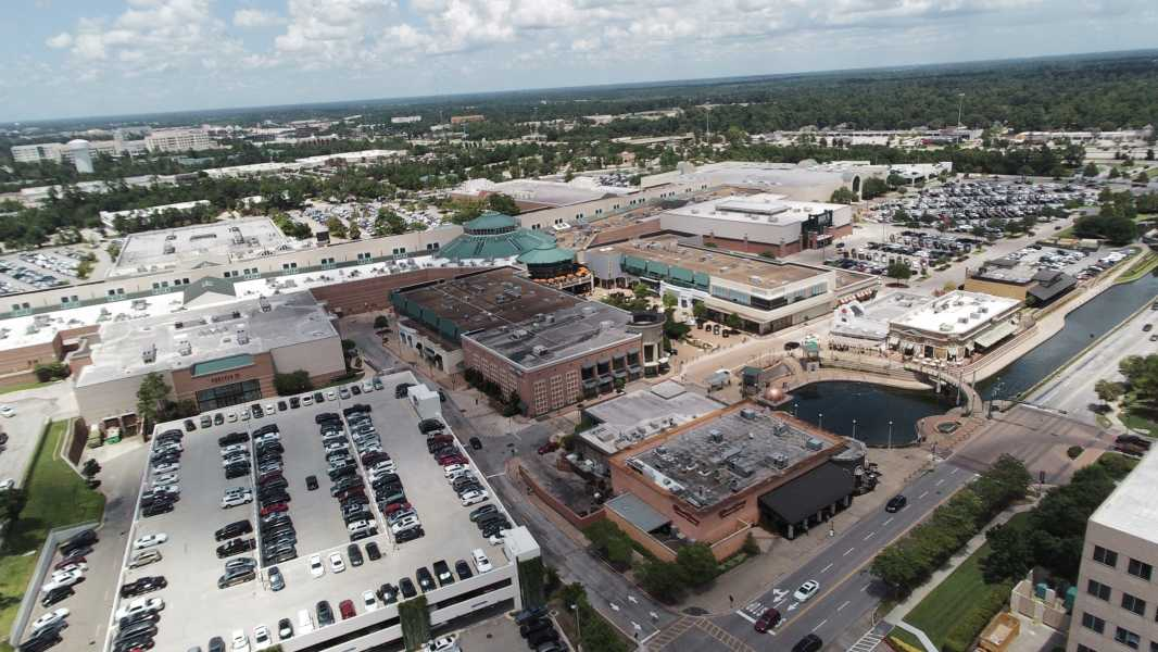 Drone Photo The Woodlands TX