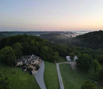 Drone Photo Thompson's Station TN