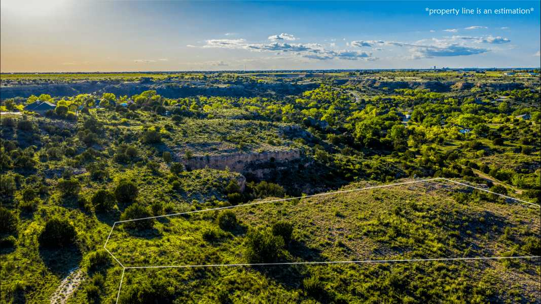 Drone Photo Timbercreek Canyon TX