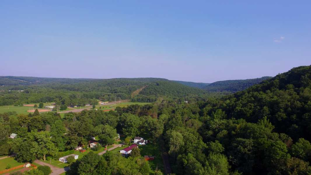 Drone Photo Titusville PA