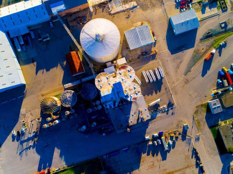 Drone Photo Tracy CA