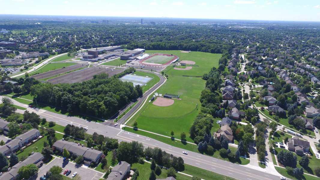 Drone Photo Troy MI