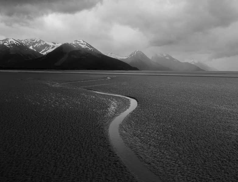 Drone Photo Turnagain Arm Al