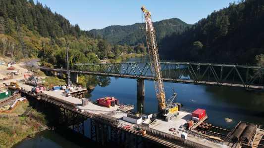 Drone Photo Umpqua River Or