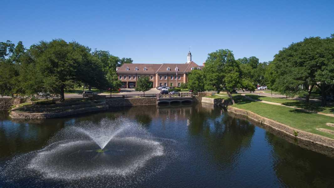 Drone Photo University Park TX