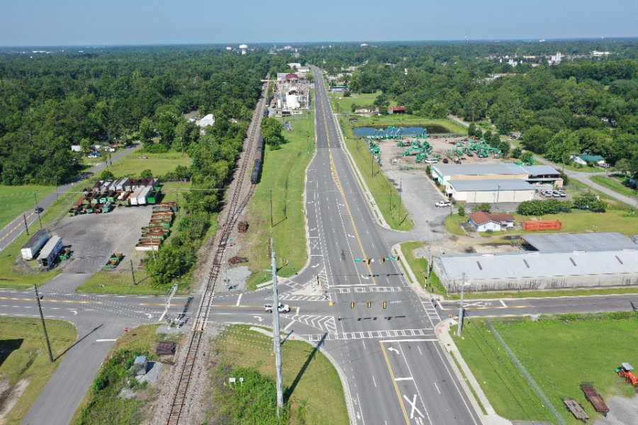 Drone Photo Valdosta GA