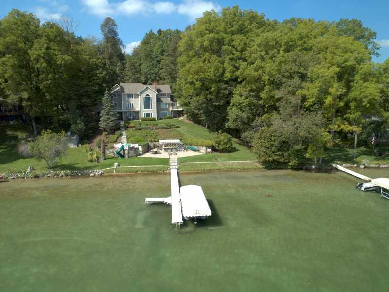 Drone Photo Vandalia MI