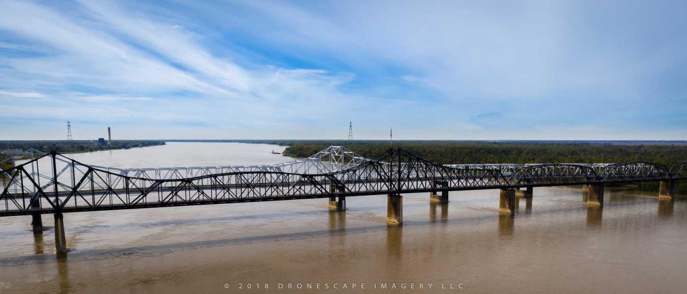 Drone Photo Vicksburg MS