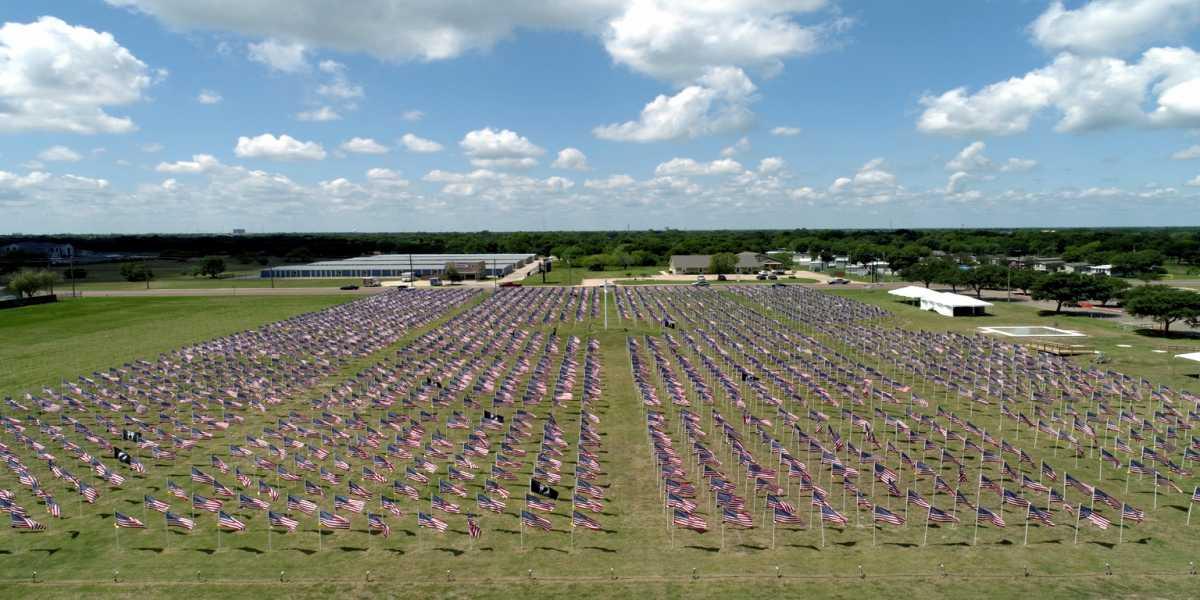 Drone Photo Victoria TX