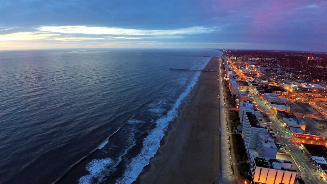 Drone Photo Virginia Beach VA