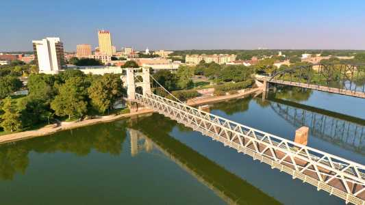 Drone Photo Waco TX
