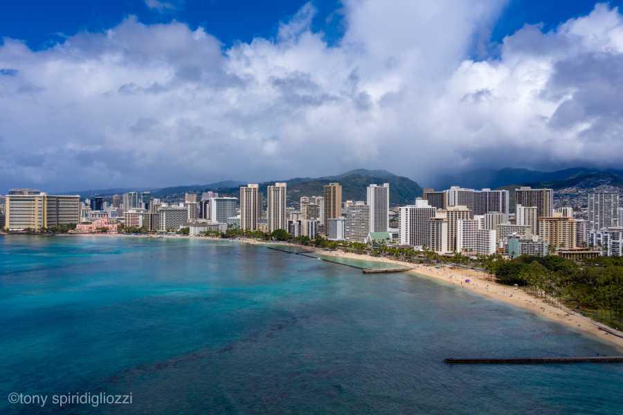 Drone Photo Waikiki HI
