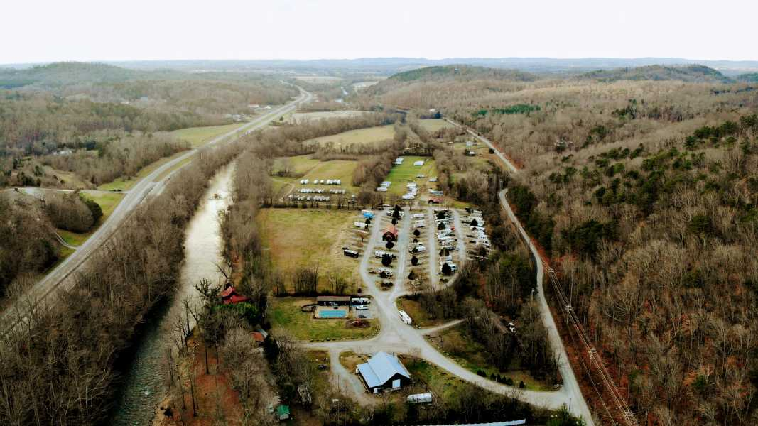 Drone Photo Walland TN