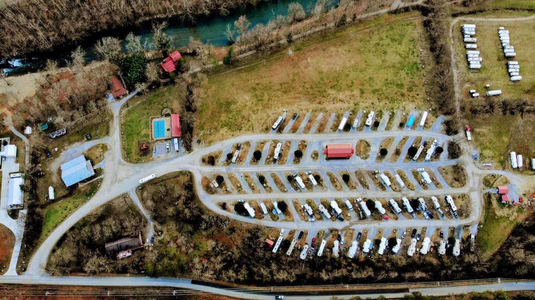 Drone Photo Walland TN