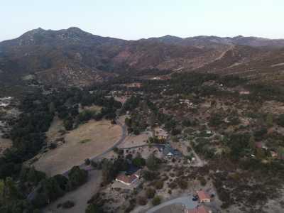 Drone Photo Warner Springs CA