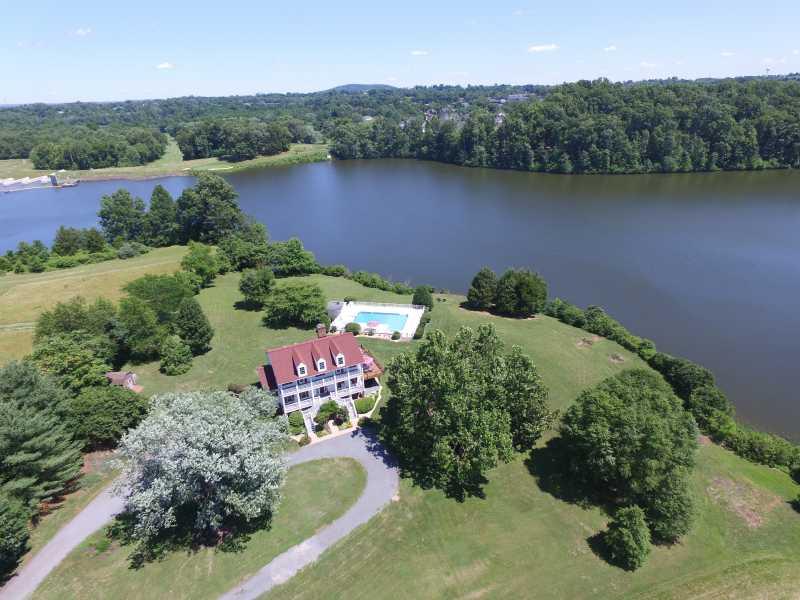 Drone Photo Warrenton VA