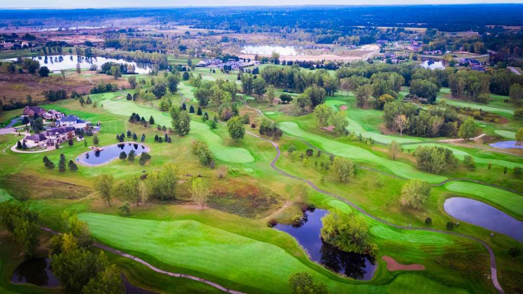 Drone Photo Washington Township MI