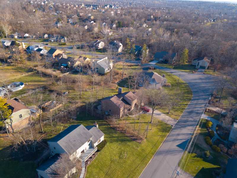Drone Photo West Chester Township OH