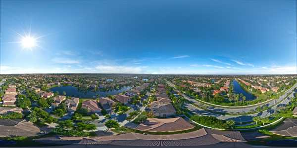 Drone Photo Weston FL