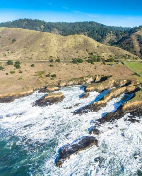 Drone Photo Westport CA