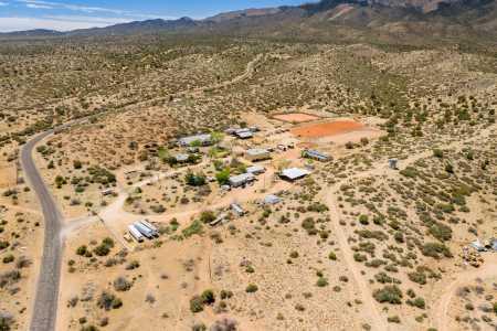 Drone Photo White Hills AZ