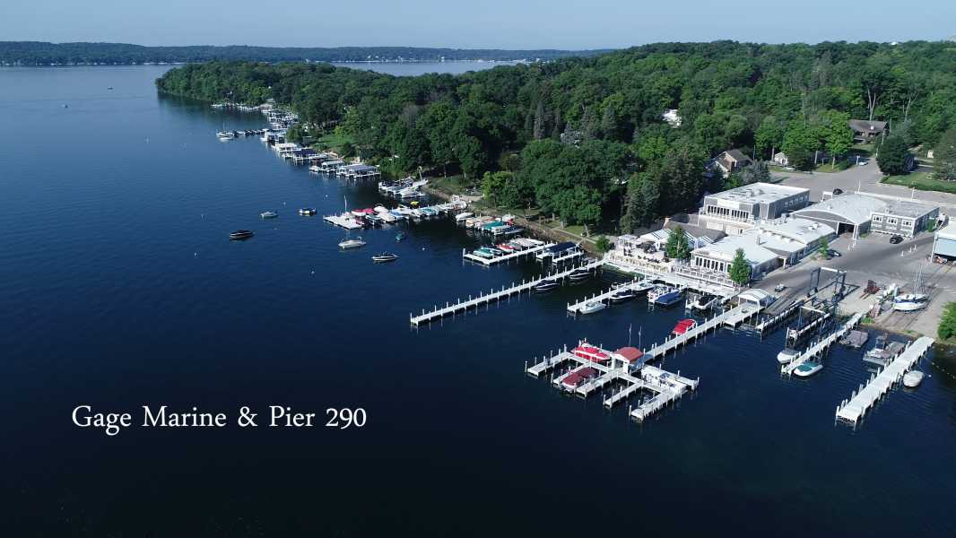 Drone Photo Williams Bay WI