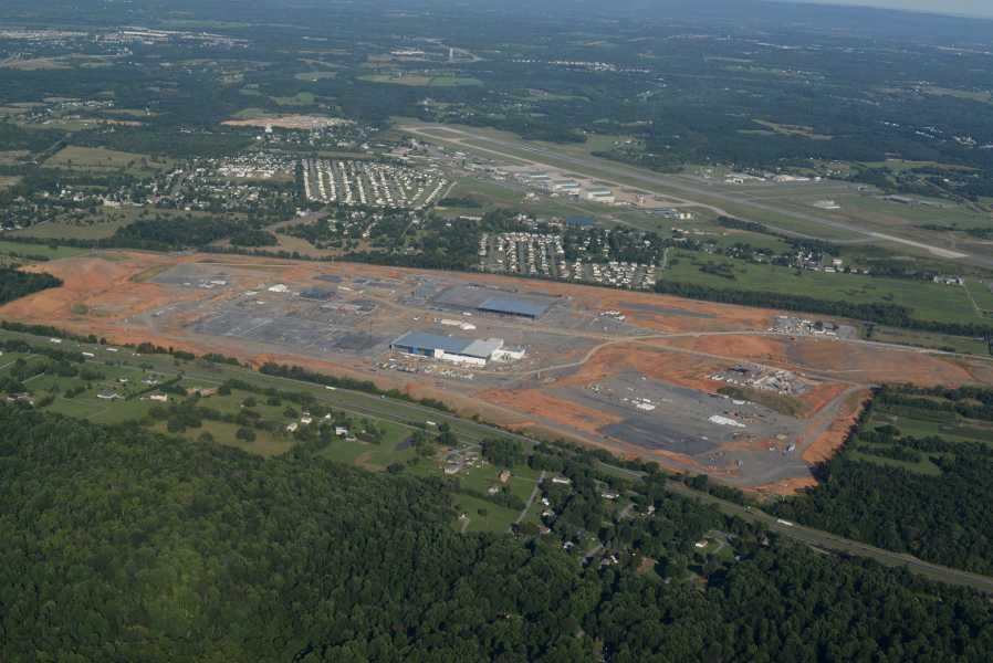 Drone Photo Winchester VA