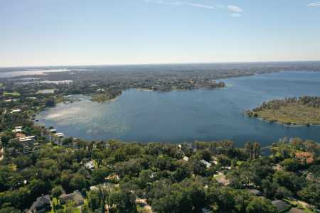 Drone Photo Windermere FL