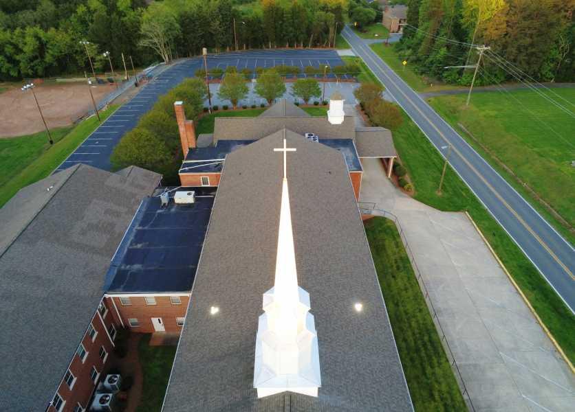 Drone Photo Winston-Salem NC