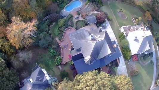 Drone Photo Woodstock GA