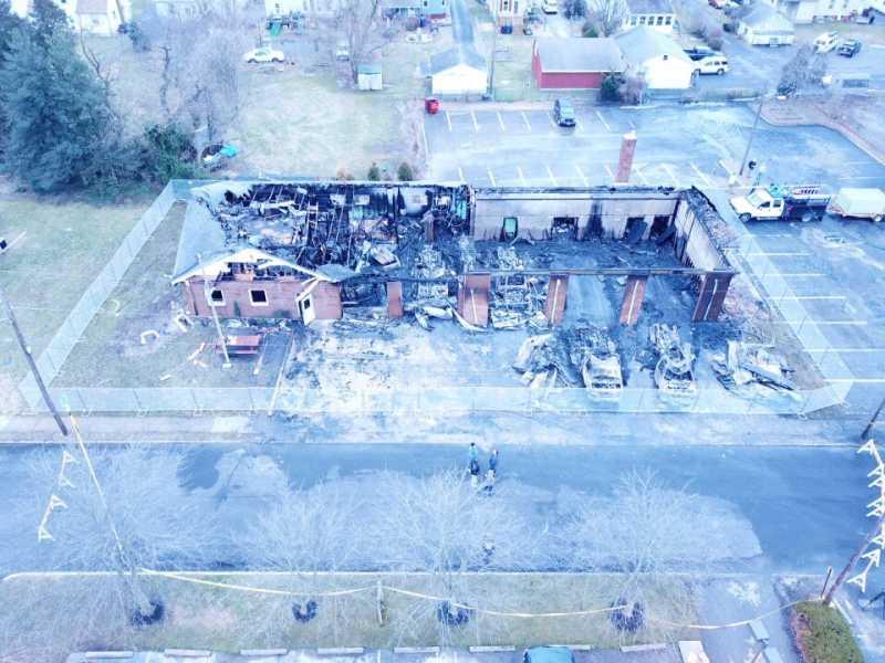 Drone Photo Woodstown NJ