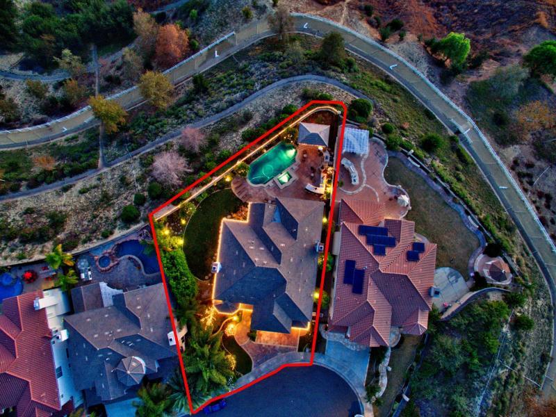 Drone Photo Yorba Linda CA