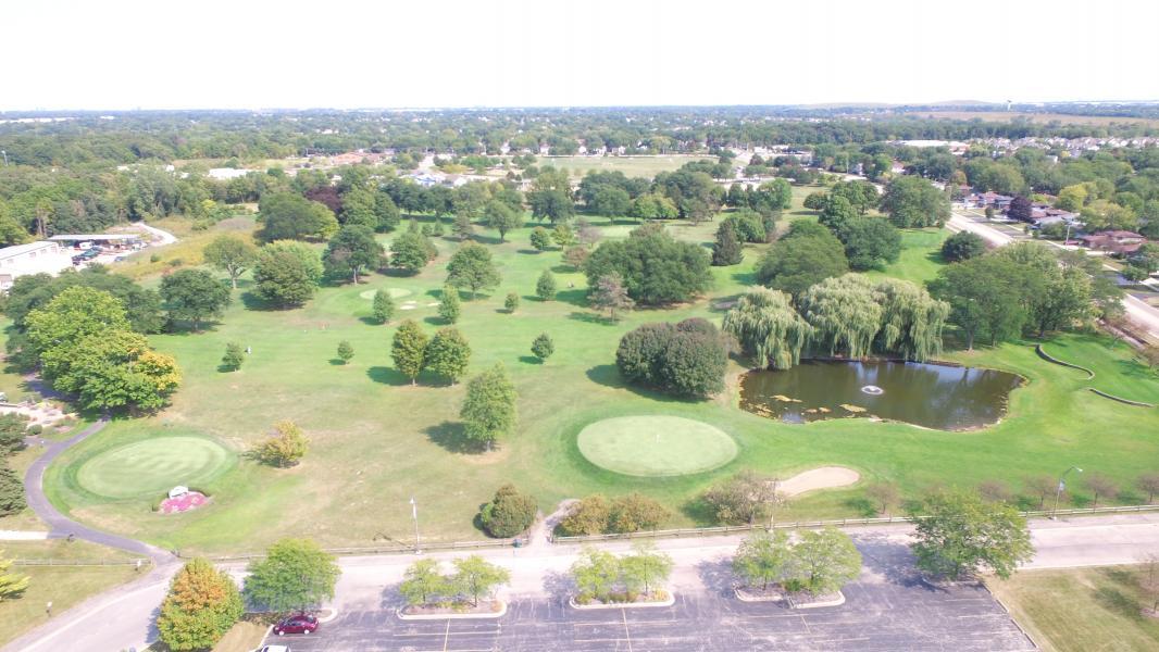 Drone Photo Bartlett IL