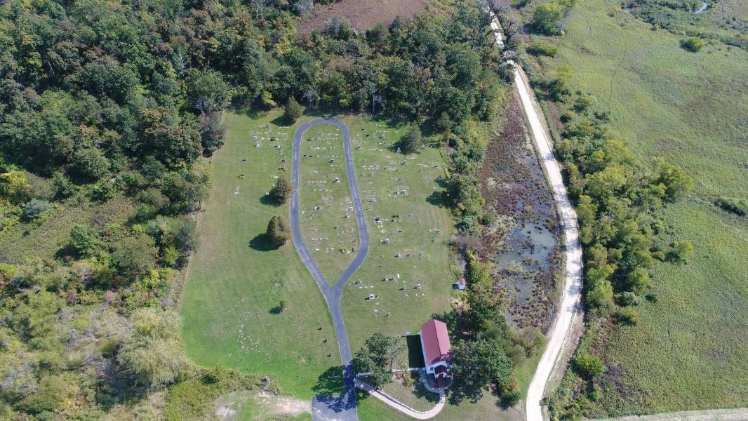 Drone Photo Ridgeway WI
