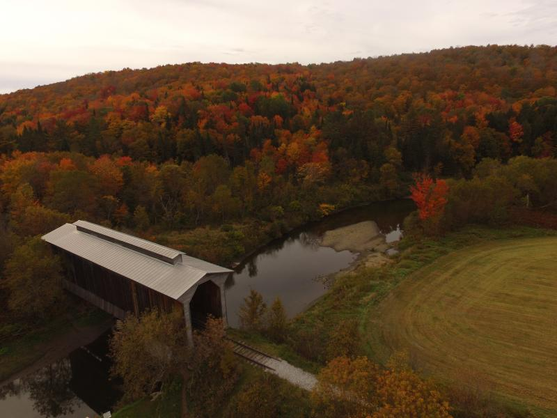 Drone Photo Waterbury VT