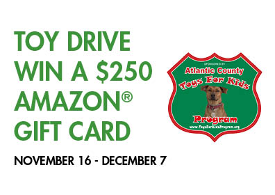 Atlantic County Toys for Kids Program Toy Drive