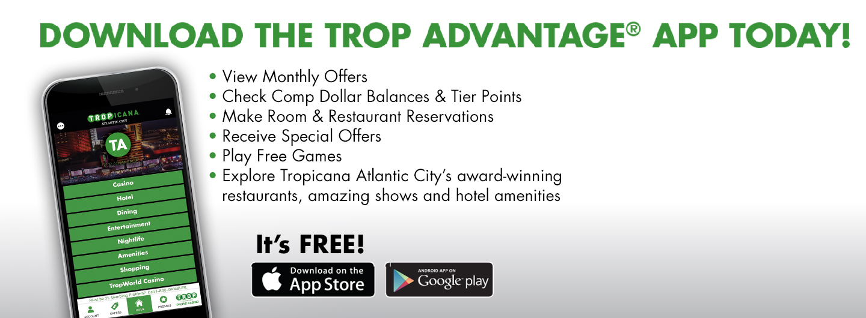 Tropicana Atlantic City | Luxury Hotels in AC