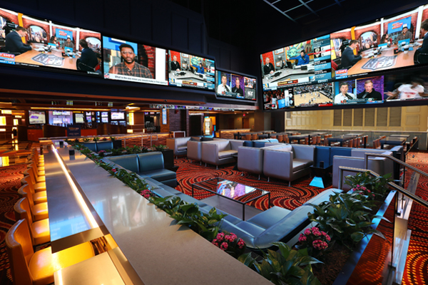 William Hill Sportsbook at Tropicana Atlantic City
