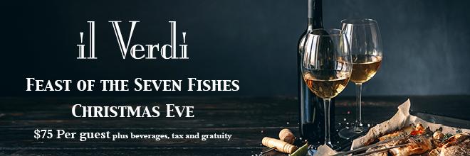 IL Verdi Seven Fishes Dinner
