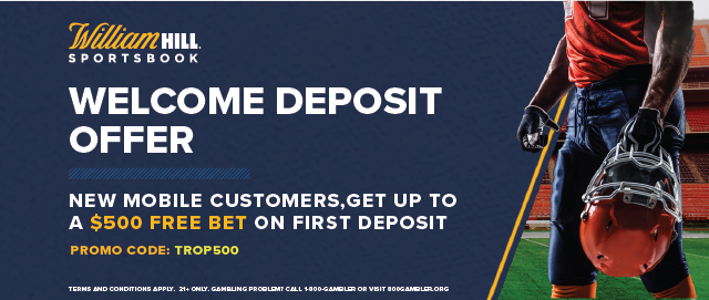William Hill Trop500 Offer