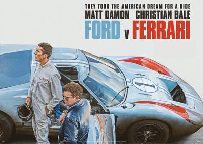 Ford versus Ferrari web image