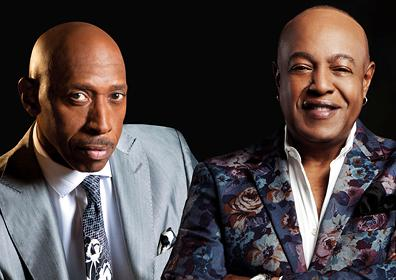 Jeffrey Osborne and Peabo Bryson