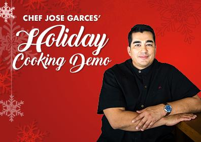 Holiday Cooking Demonstration with Chef Jose Garces