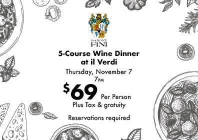 Barone Fini Wine Dinner iL Verdi