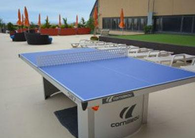 Ping Pong Table at South Tower Pool
