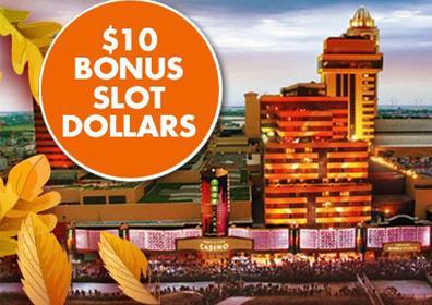 Tropicana Atlantic City Exterior and Bonus Slot Dollar Offer