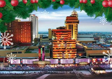 Exterior Tropicana Atlantic City Christmas