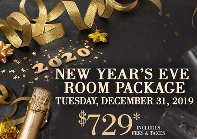 NYE Room Package