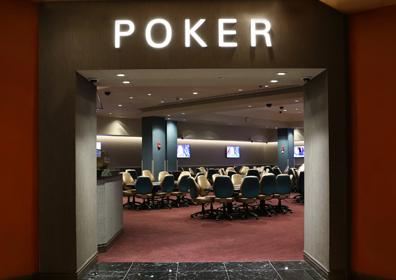 Poker Room Entrance