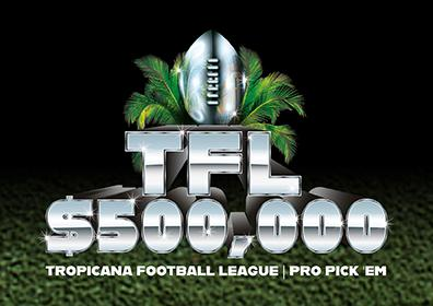 Tropicana Football League Pro Pick 'Em